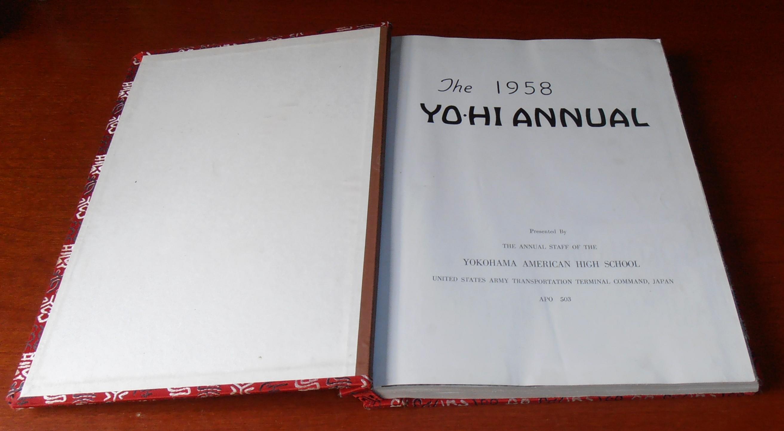 8c6fb8f9ea Yo-Hi 1958 Annual